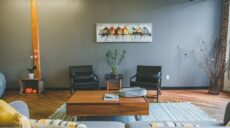 Aranżacja salonu — inspiracje w wystroju wnętrza