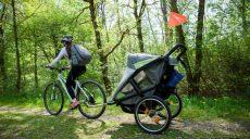 Przyczepka rowerowa dla dziecka - pomysł na rodzinne weekendy